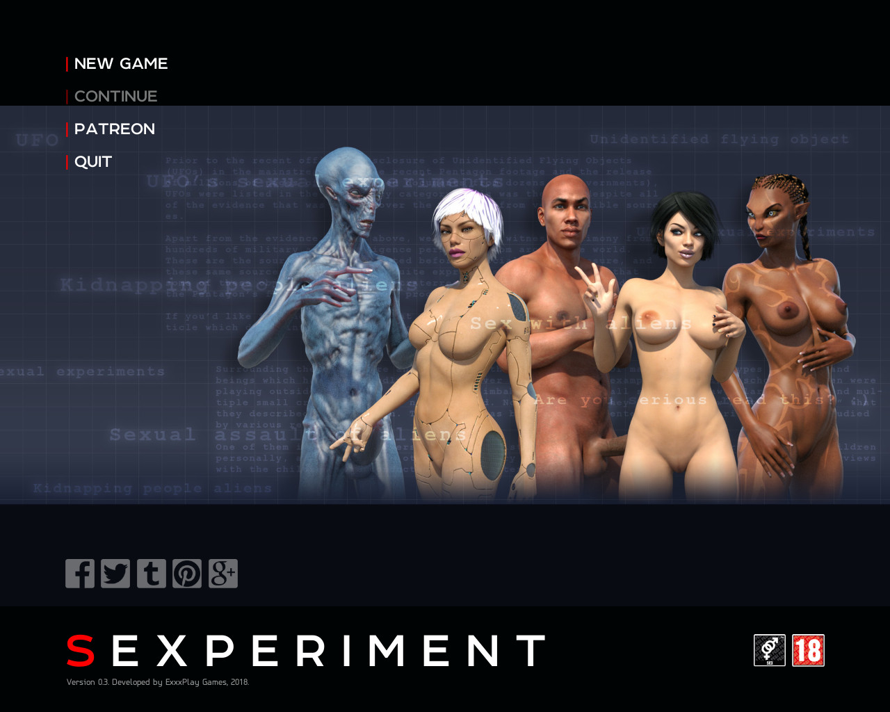 18 Adult Porn Games sexperiment - version 0.3.1 [exxxplay] - best-hentai-games