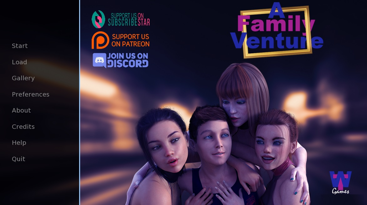 A Family Venture game