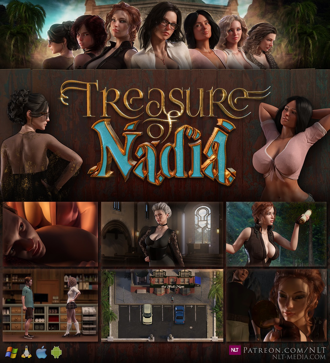 Treasure of Nadia adult game