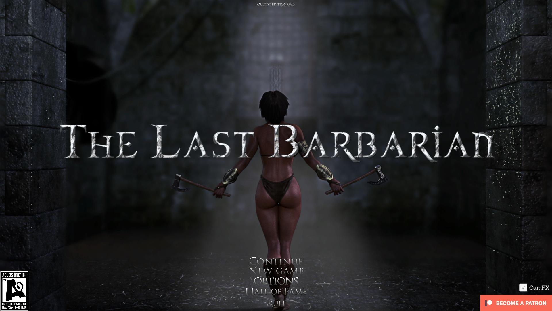 The Last Barbarian