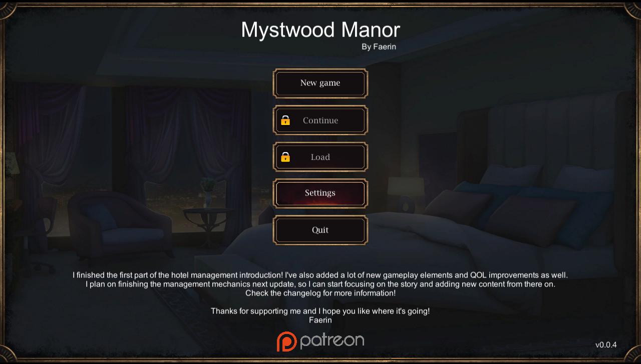 Mystwood Manor