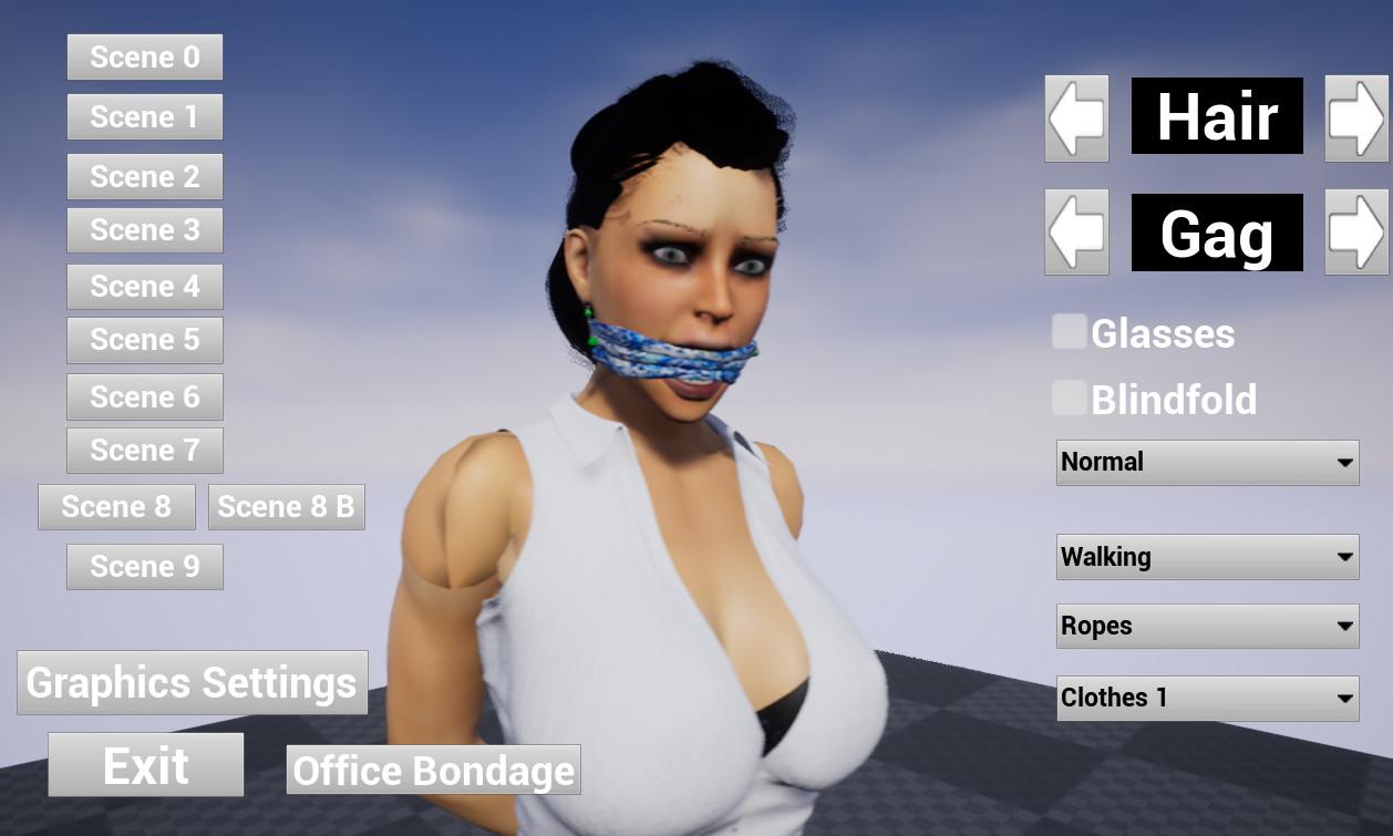 Office Girl Bondage [Prototype] [Alex8778] - Best-hentai-games